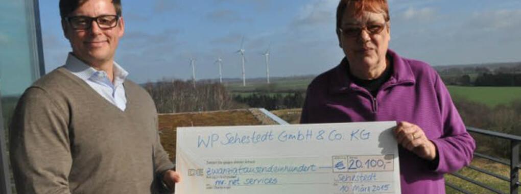 Windpark-Strom: Es fließen auch die Daten