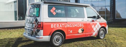 Das GIFFInet Beratungsmobil