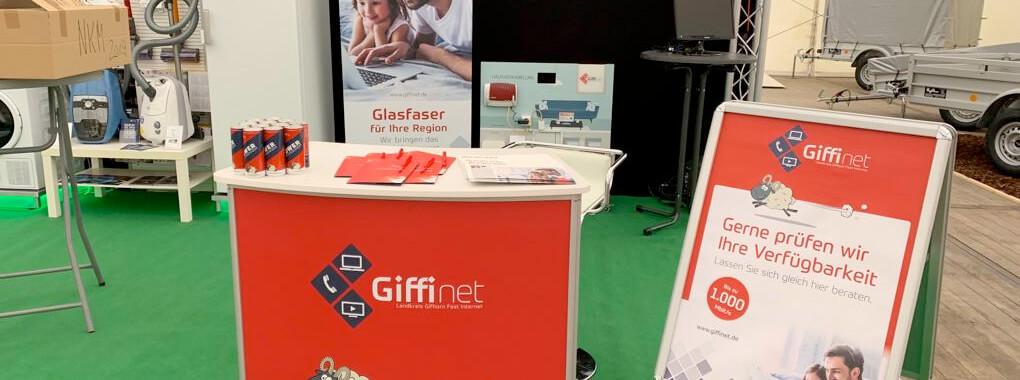GIFFInet als Aussteller auf Nordkreismesse in Wittingen
