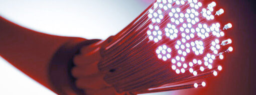Warum kommt der: Glasfaserausbau?